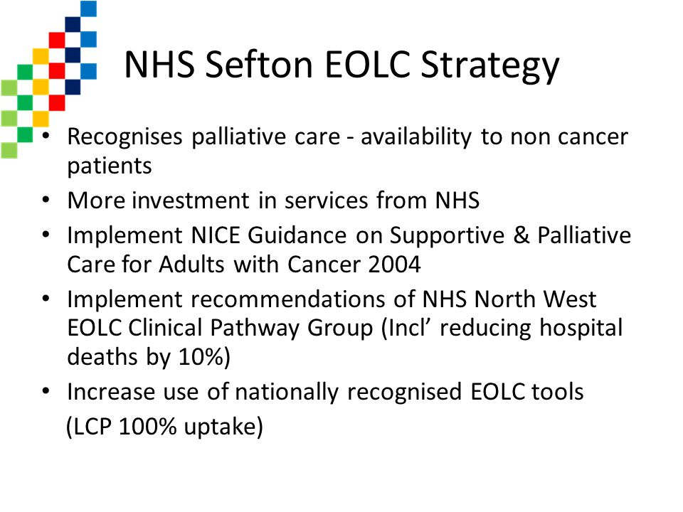 NHS Sefton EOLC Strategy
