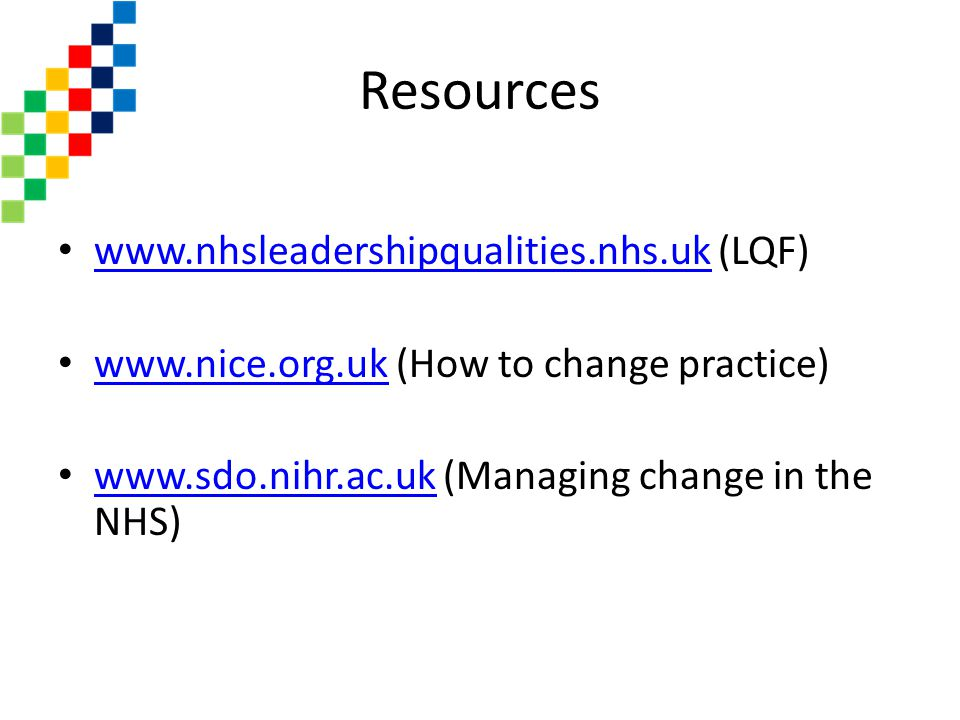 Resources   (LQF)