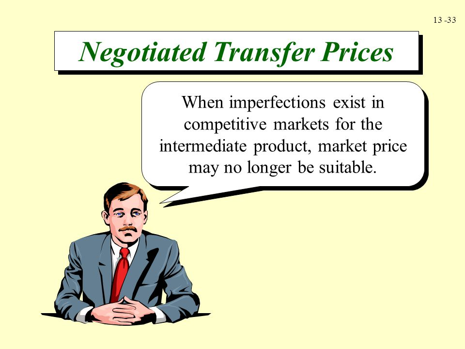 Negotiated Transfer Prices