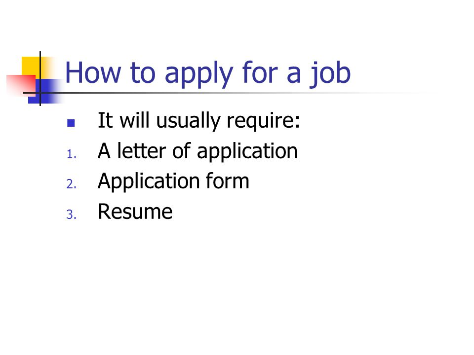 how to apply for a staff