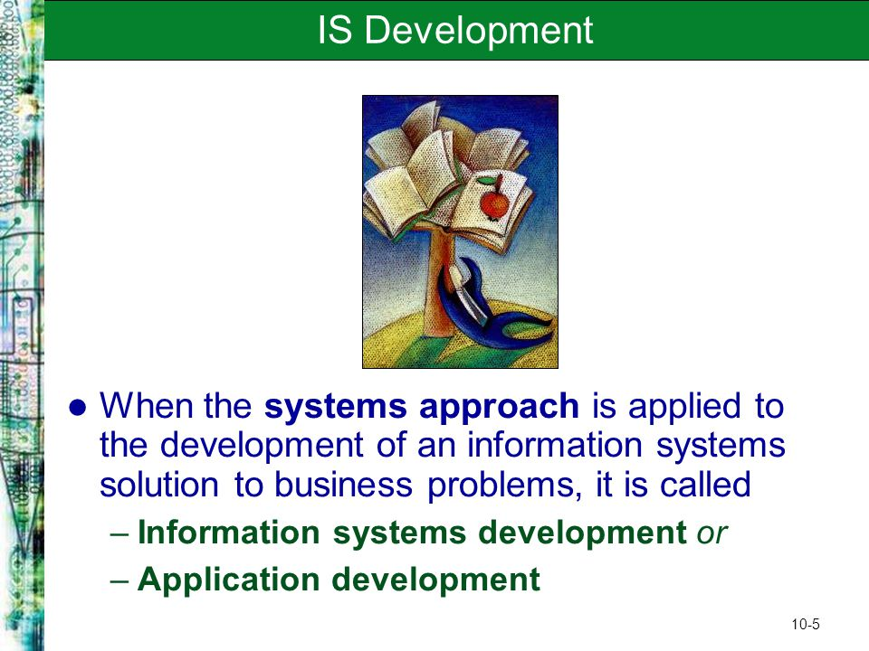Improvement of business information system in