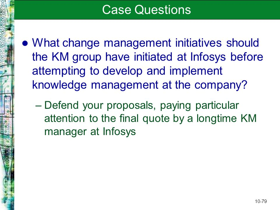 infosys case study in motivation