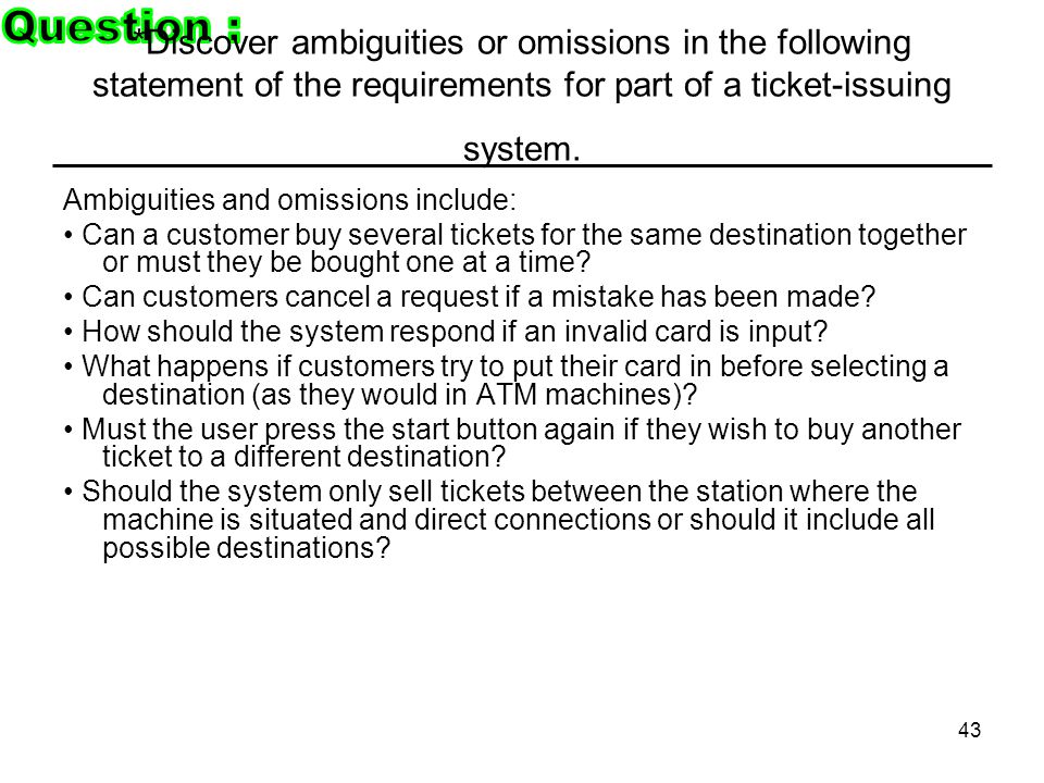 omissions in a ticket issuing system Retirement planning is the responsibility of the individual, not the government libertarians would phase out the current government-sponsored social security system and transition to a private voluntary system the proper and most effective source of help for the poor is the voluntary efforts of private groups and individuals.
