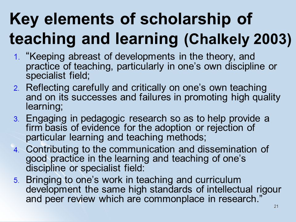 Summarize learning and teaching strategies used own specialism