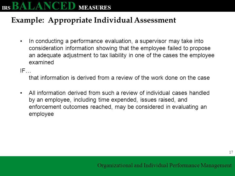 Legal consideration in performance appraisal
