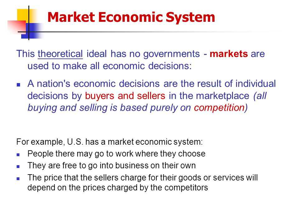 an analysis of the price system of various economic systems World-systems theory (also known as world-systems analysis or the world-systems perspective), is a multidisciplinary, macro-scale an analysis of the price system of various economic systems approach to world history and social.