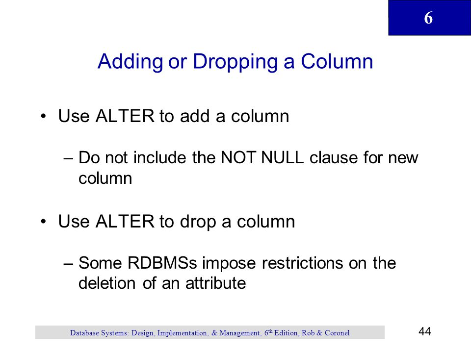how to add column in sql with not null