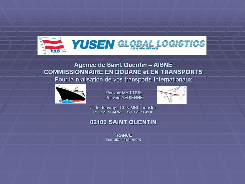 Agence de Saint Quentin – AISNE