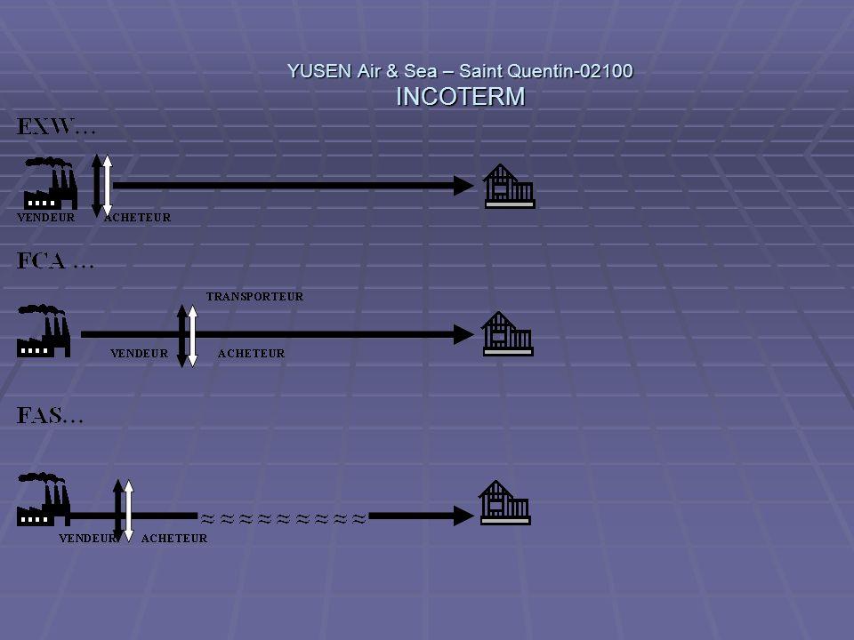 YUSEN Air & Sea – Saint Quentin-02100 INCOTERM