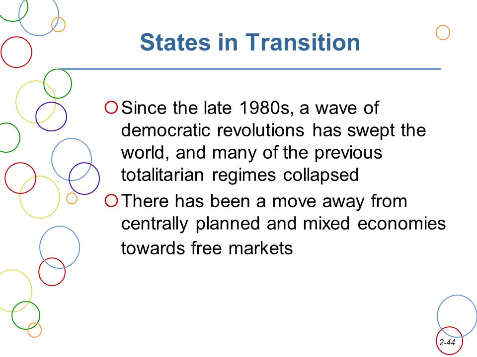 States in Transition