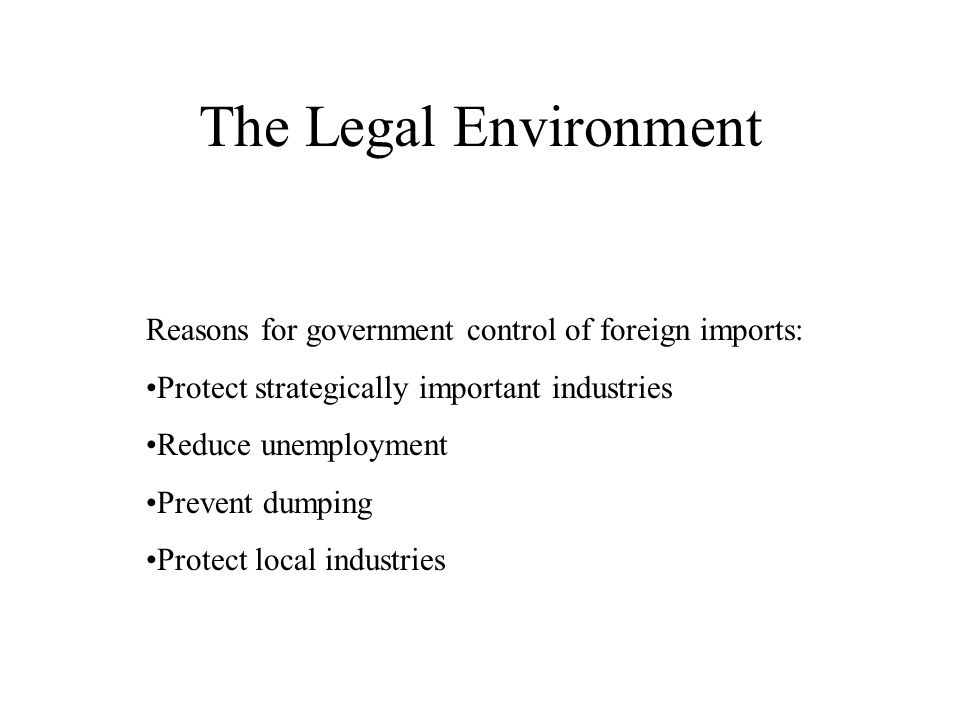 the significance of government in environmental Why is it important to care about the environment the ecosystem (all the communities of living organisms found in a specific place, their habitats and their.