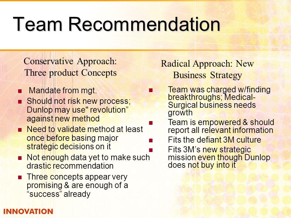 Team Recommendation