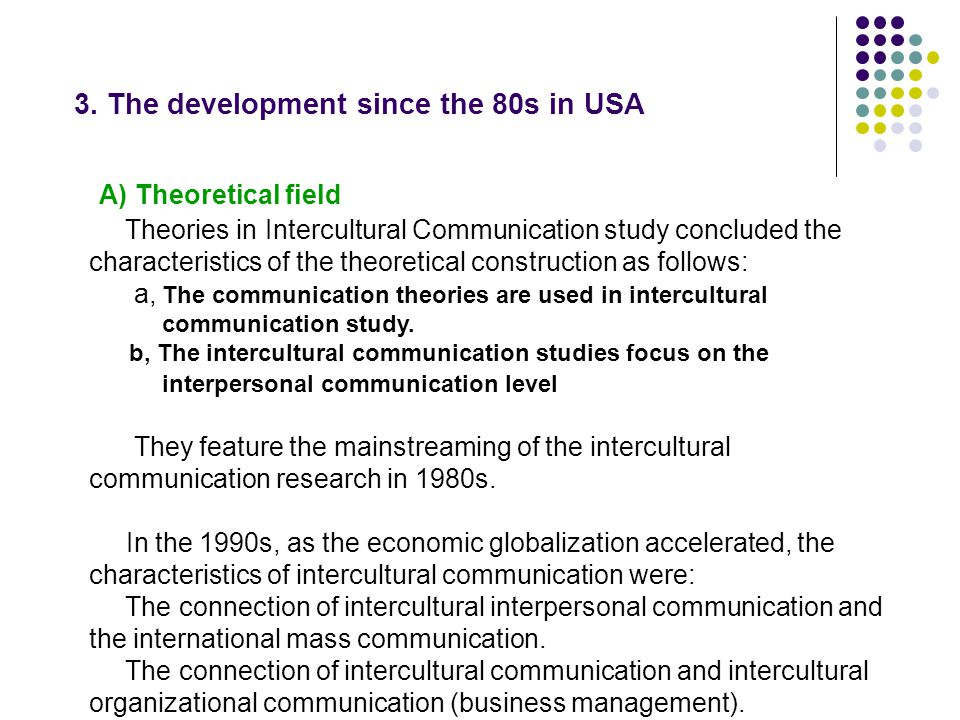 ethnographic research paper for intercultural communication International encyclopedia of communication free sample entry ethnography of communication donal carbaugh what are the means of communication.