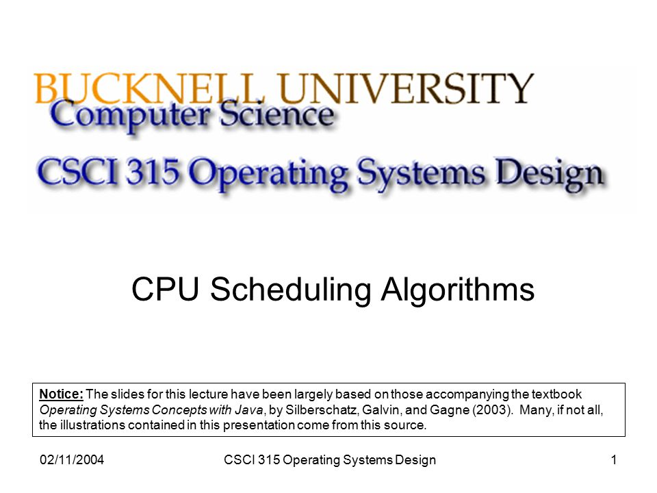 Cpu Scheduling Algorithms Ppt Video Online Download
