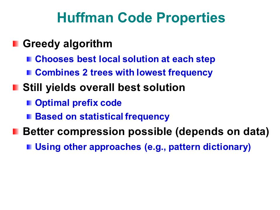 huffman source code in java