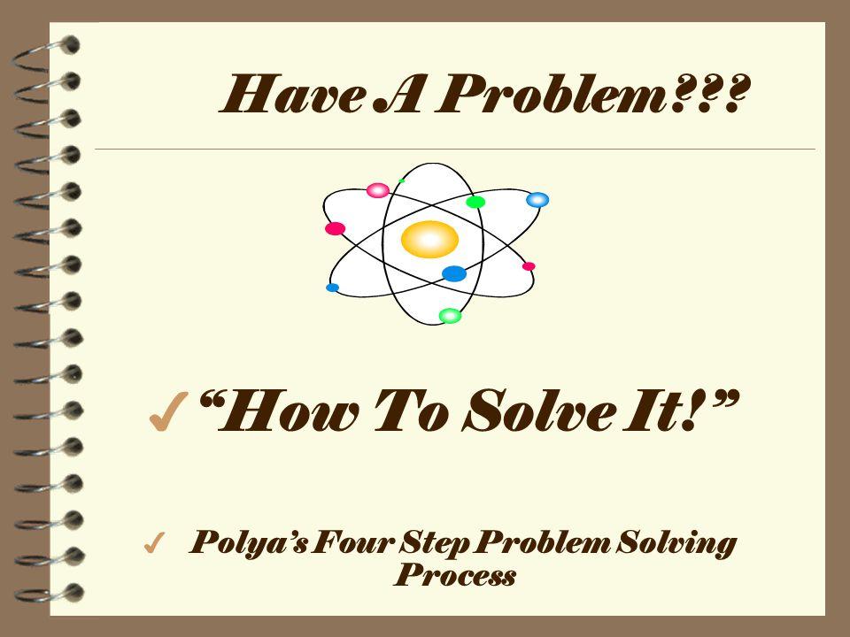 problem solving polya