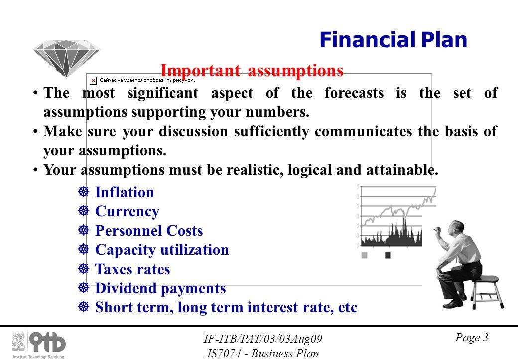 Business Plan Financcial Plan - ppt download