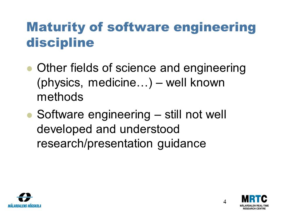 Research in Software Engineering (RiSE)