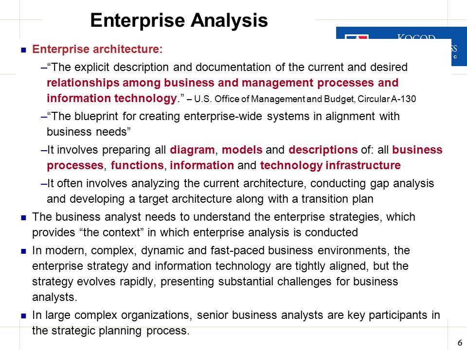 Business analysis data design itec 630 fall ppt video online enterprise analysis enterprise architecture malvernweather Images