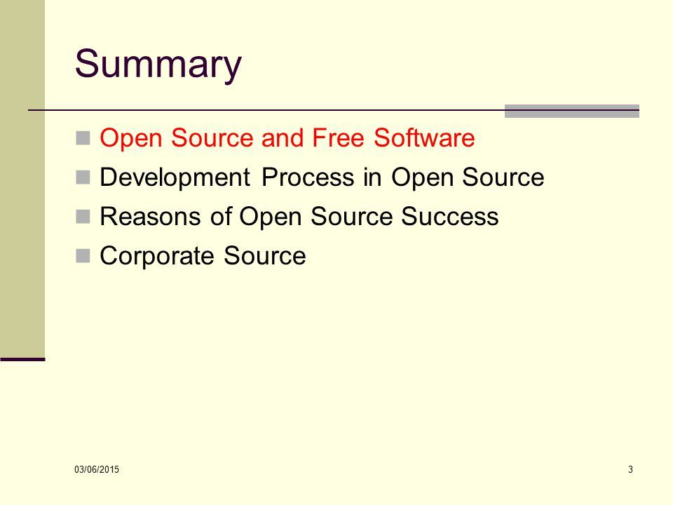 Open Source Software Engineering Ppt Download