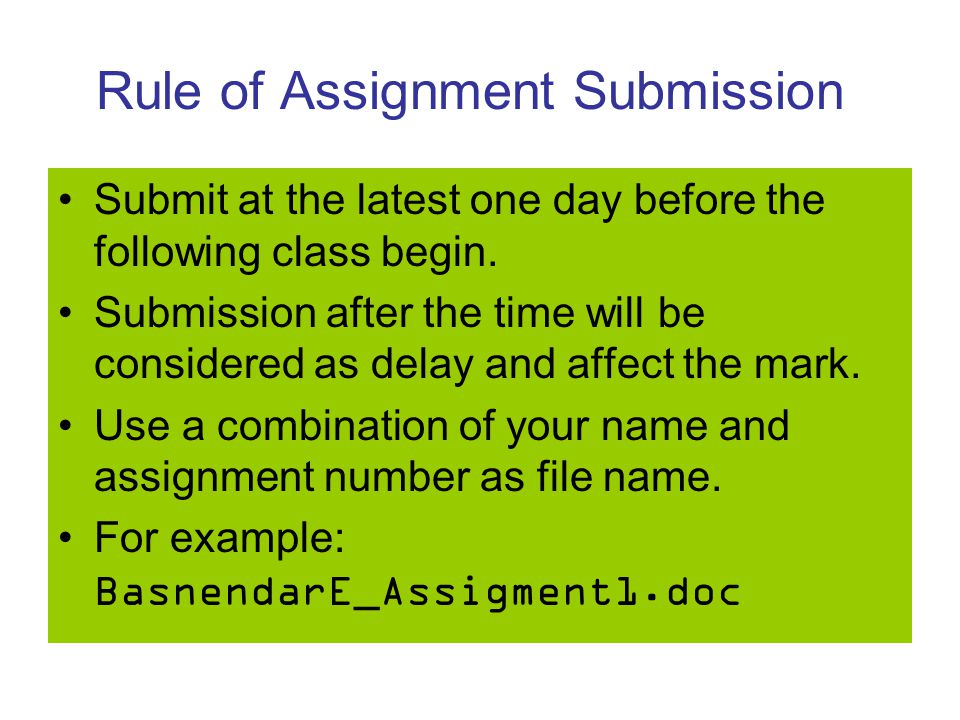 submission of assignment When teachers create an assignment with submissions enabled, students can submit files directly on schoology the recommended workflow to.