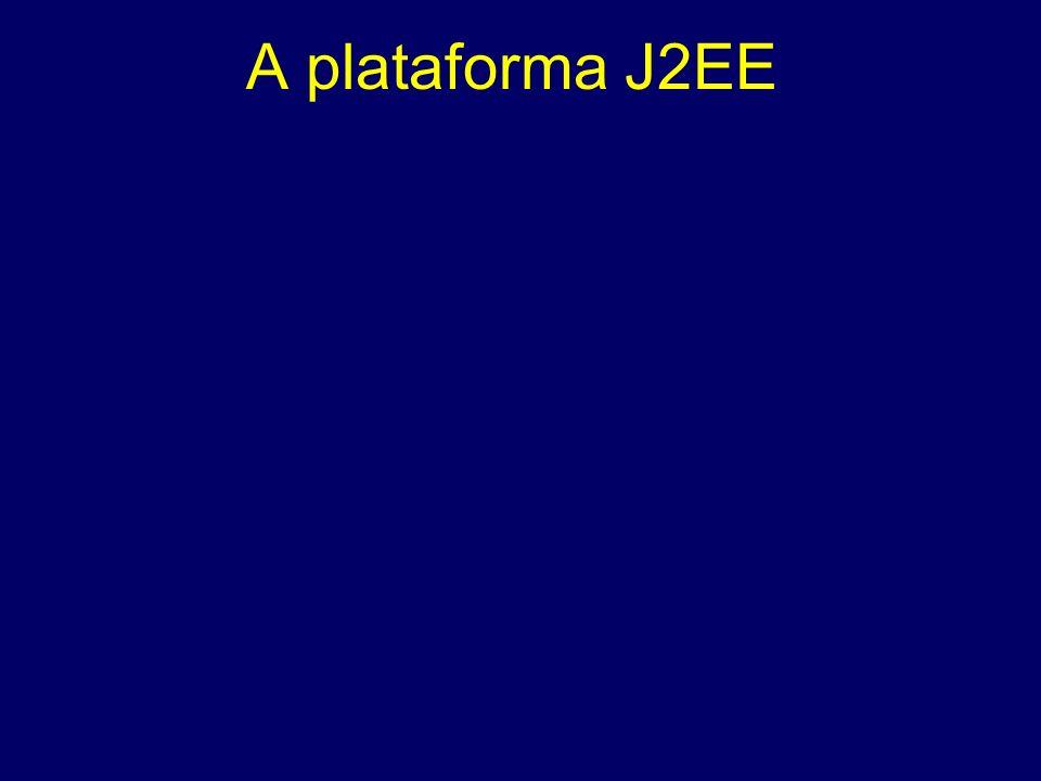 A plataforma J2EE