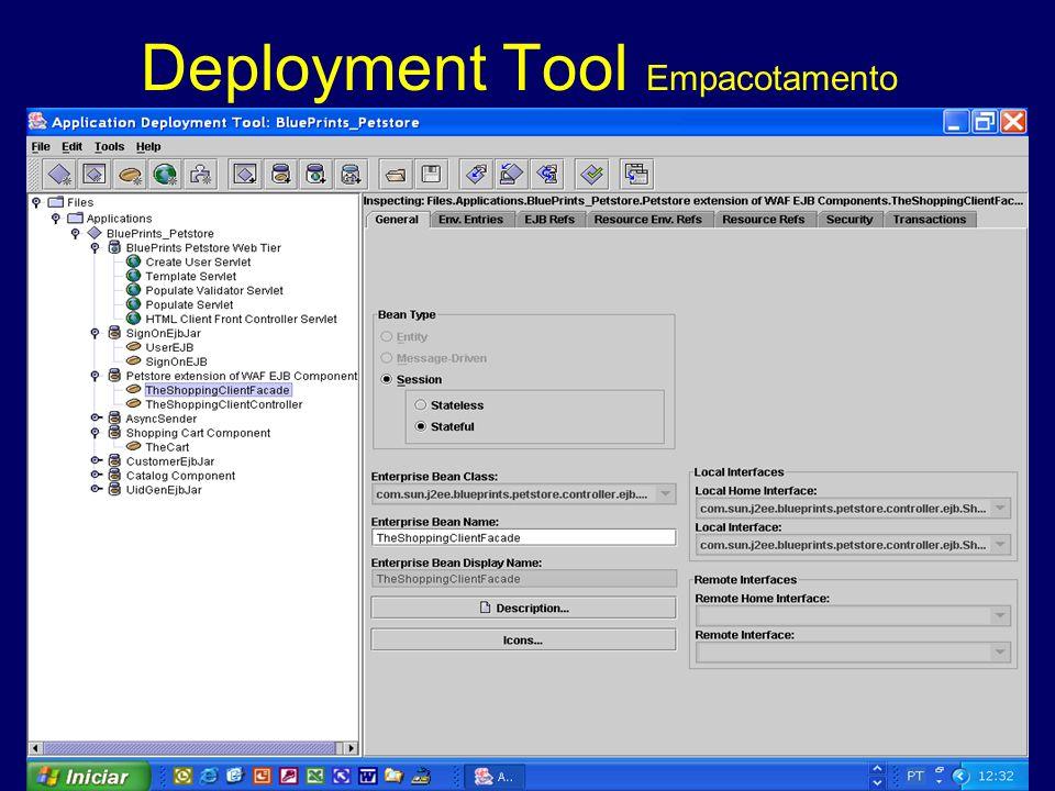 Deployment Tool Empacotamento