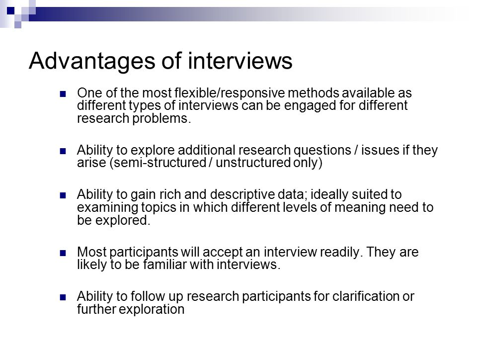 types of interview pdf download