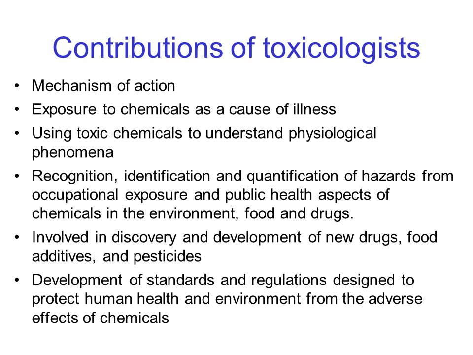 the toxicity of environmental chemicals as a public health concern In fulfilling the legislative mandate of sb 509, oehha will be holding a series of public workshops to obtain input on hazard traits, endpoints and other chemical characteristics that can be used to identify and prioritize chemicals of concern with regard to toxicity and exposure potential.