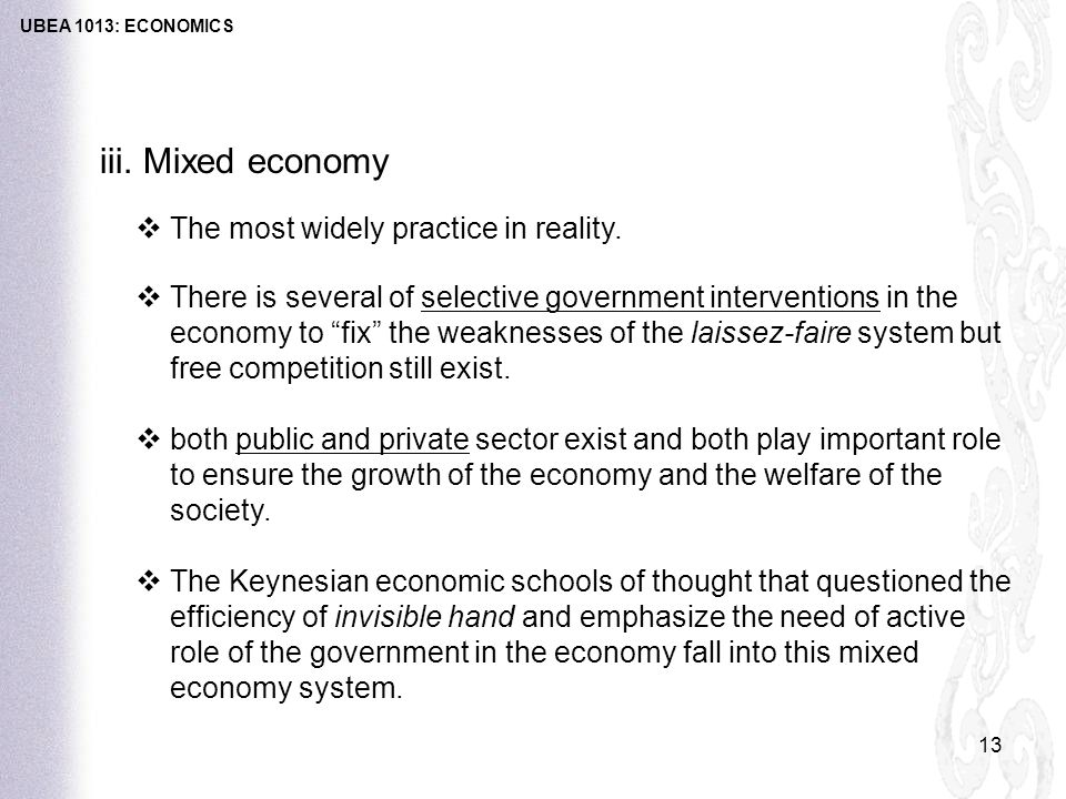 Mixed Economic System: Meaning, Forms, Functions and Role of Government