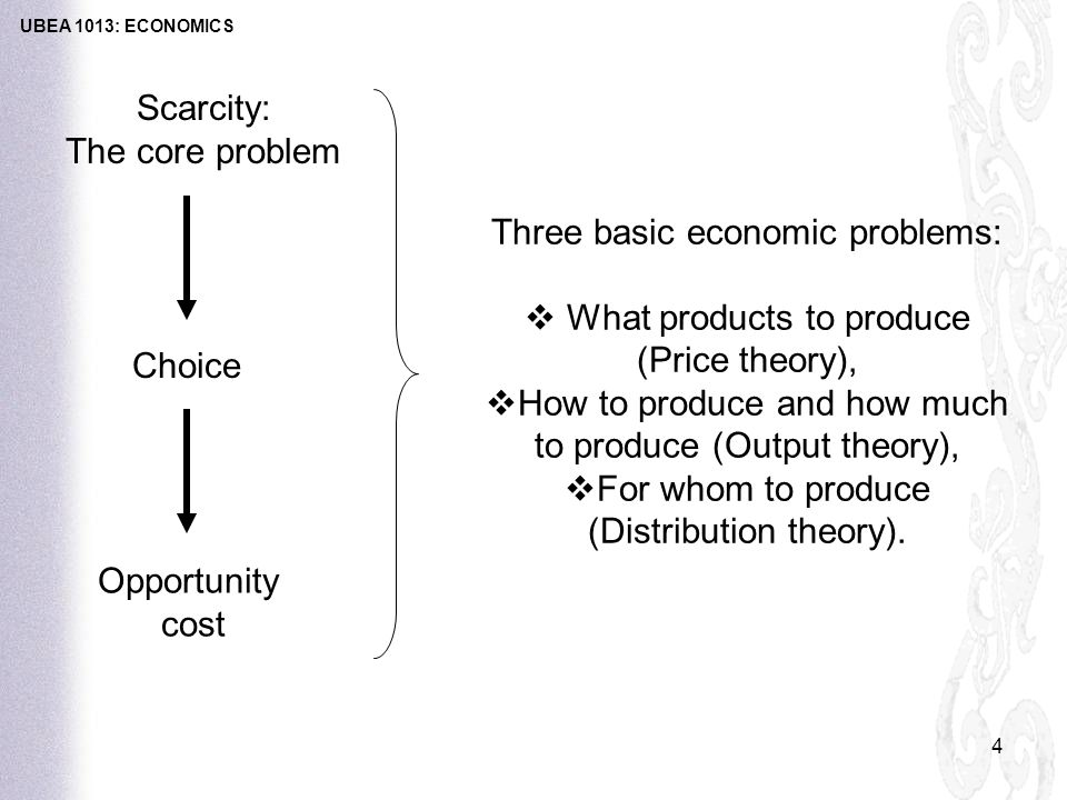 4 Basic Central Problems Faced by an Economy – Explained!
