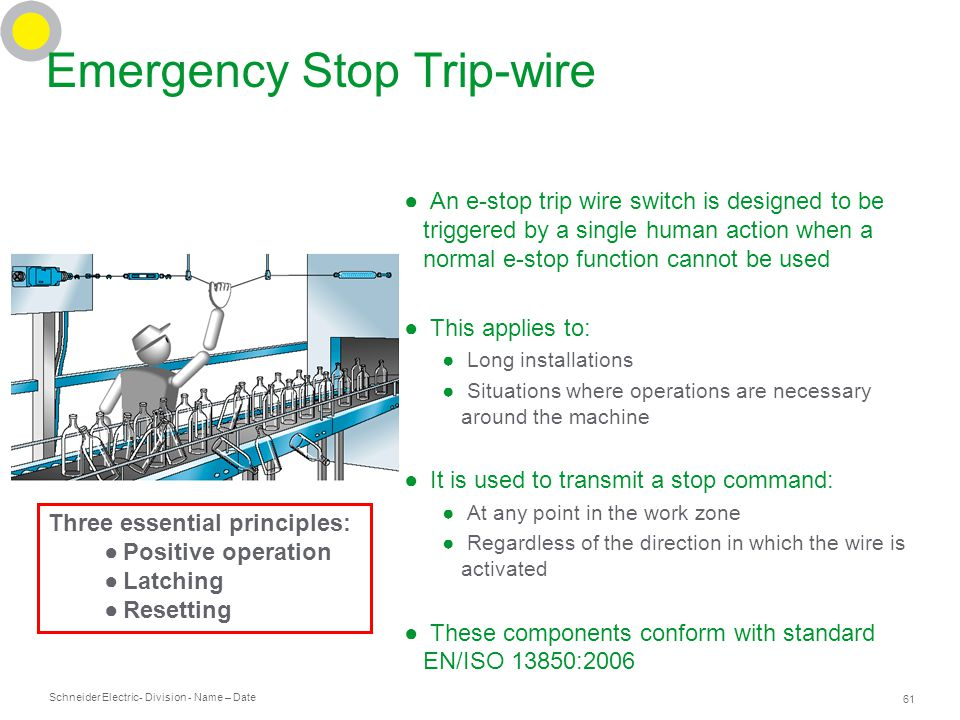 e stop to shunt trip wiring diagram shunt breaker wiring diagram machine safety training for beginners - ppt download