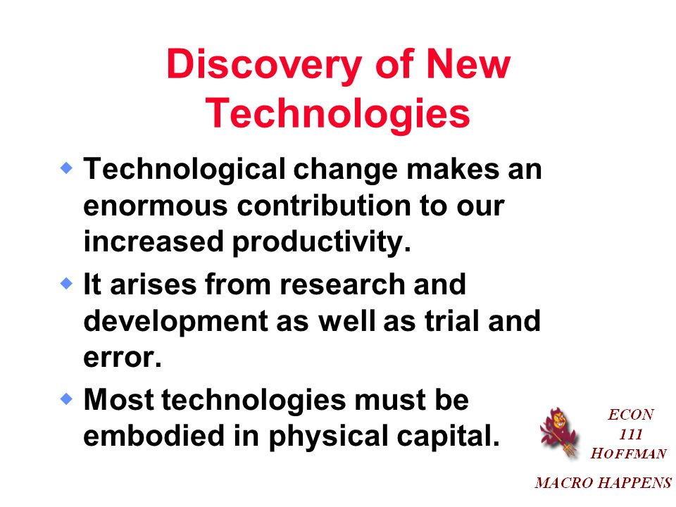 Discovery of New Technologies