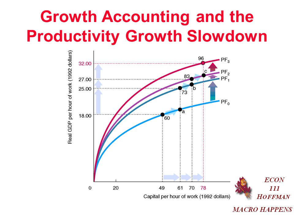 Growth Accounting and the Productivity Growth Slowdown
