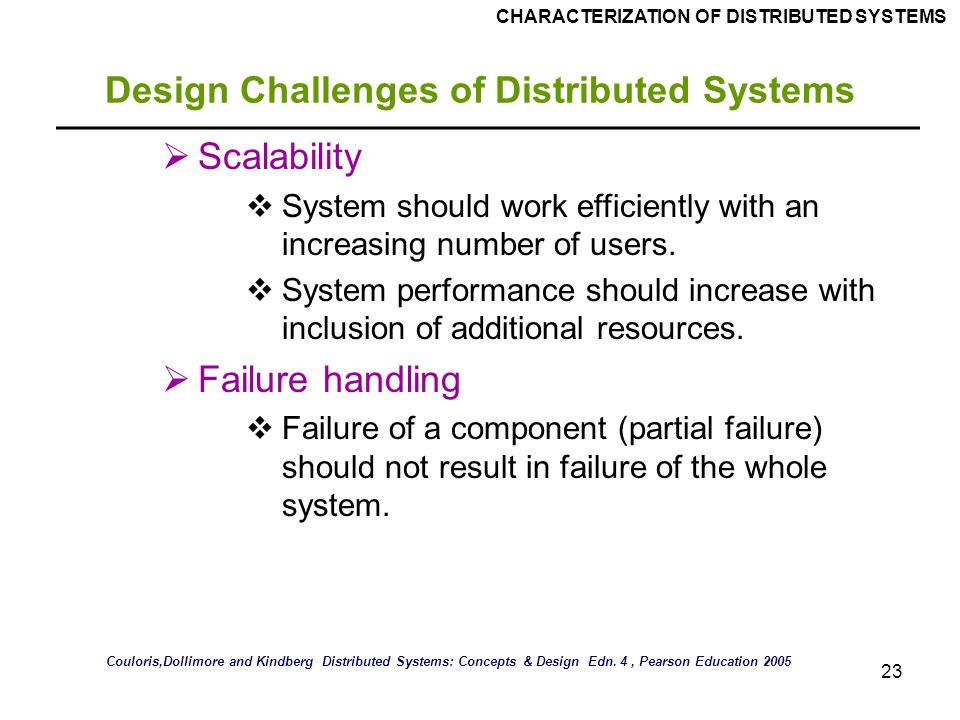 distributed systems concepts and design pdf