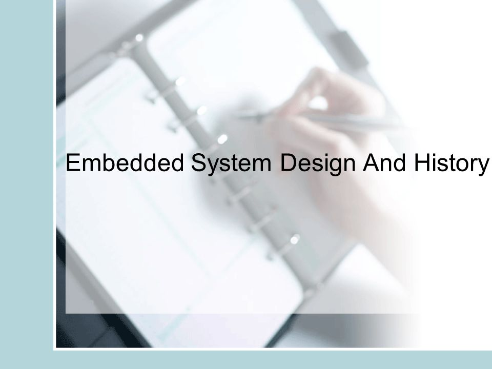 embedded system design Embedded system design: a unified hardware/software introduction , in large part because of the variety of setups used in embedded systems courses.
