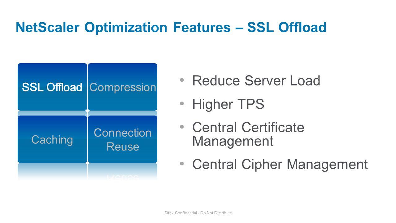 Optimizing netscaler for enterprise applications ppt download 5 netscaler optimization features ssl offload 1betcityfo Gallery