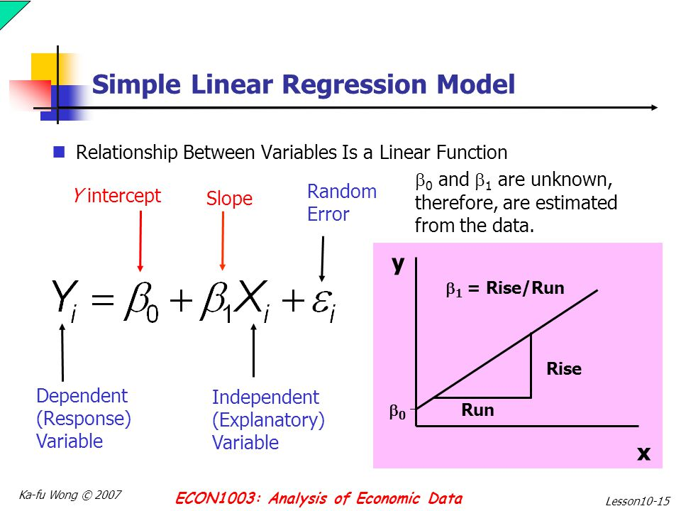 forecasting simple linear regression applications Fuzzy linear regression and its applications to forecasting in uncertain  to forecasting in uncertain  simple linear regression where.