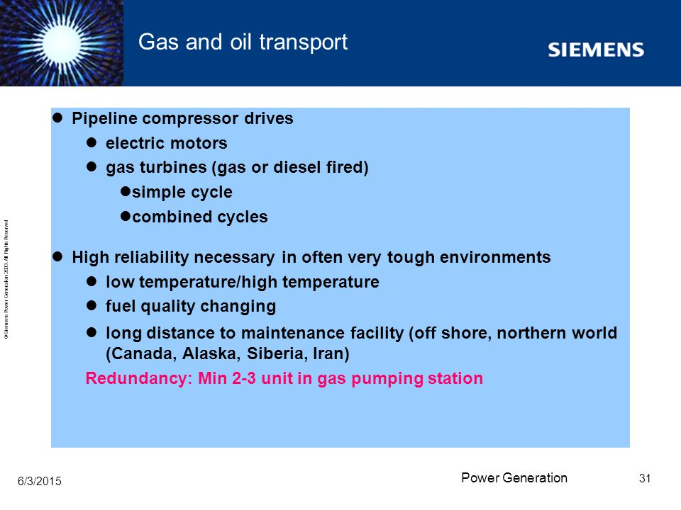 Gas and oil transport Pipeline compressor drives electric motors