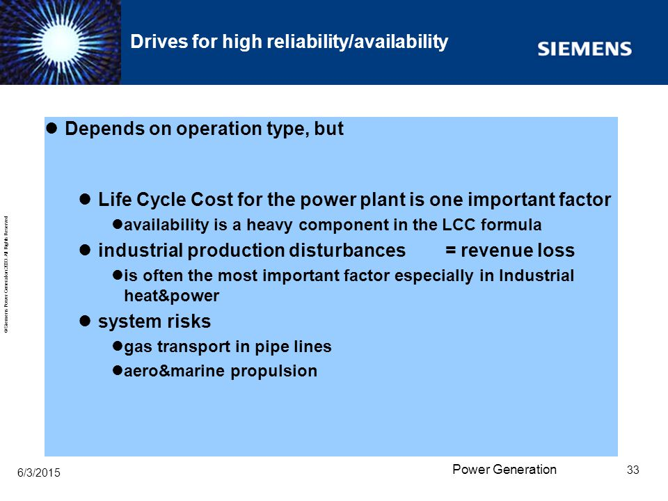 Drives for high reliability/availability