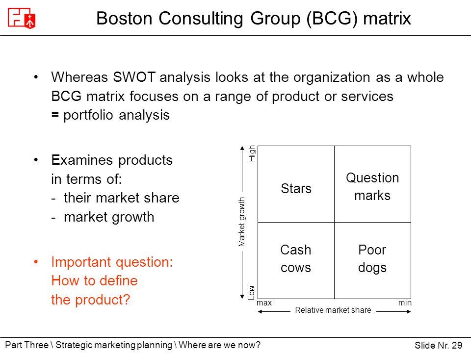 bcg matrix for dell company