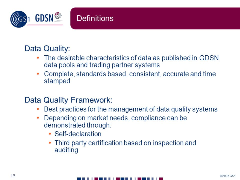 Data Quality Protocol and Data Synchronization - ppt download