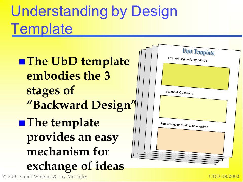Understanding by design ppt video online download - Understanding by design unit plan template ...