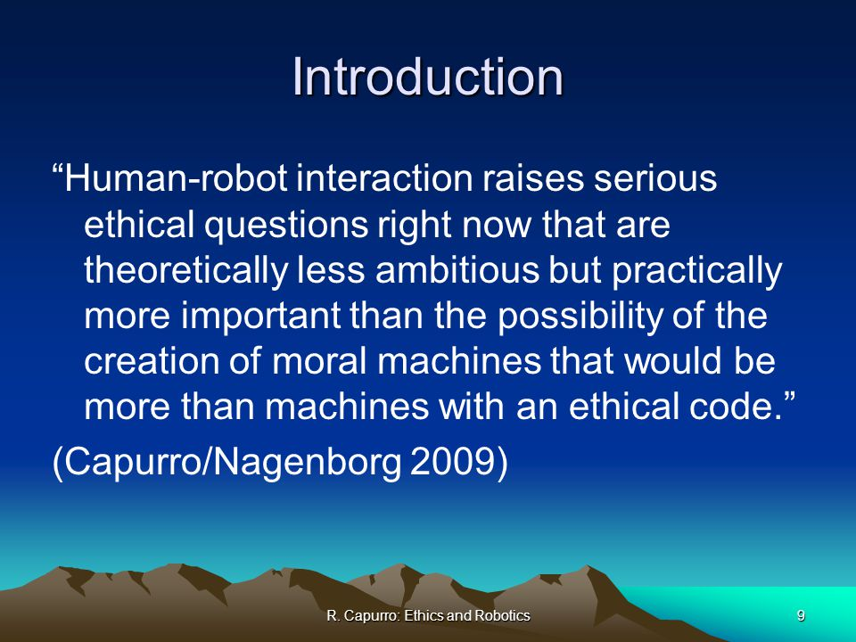 ethical issues robots society 7 3 the impact of ai, robotics and automation technologies on professions and  society 10 4 ethical issues related to the contemporary utilisation of ai, robotics .