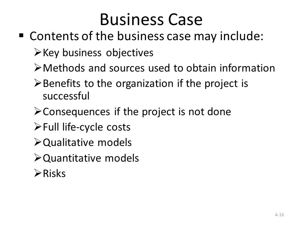 CH 4 Project Initiation. - ppt download