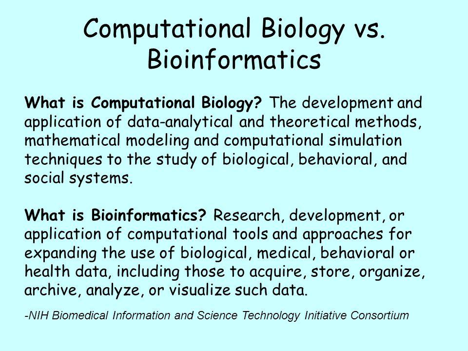 Bioinformatics Introduction Ppt Video Online Download