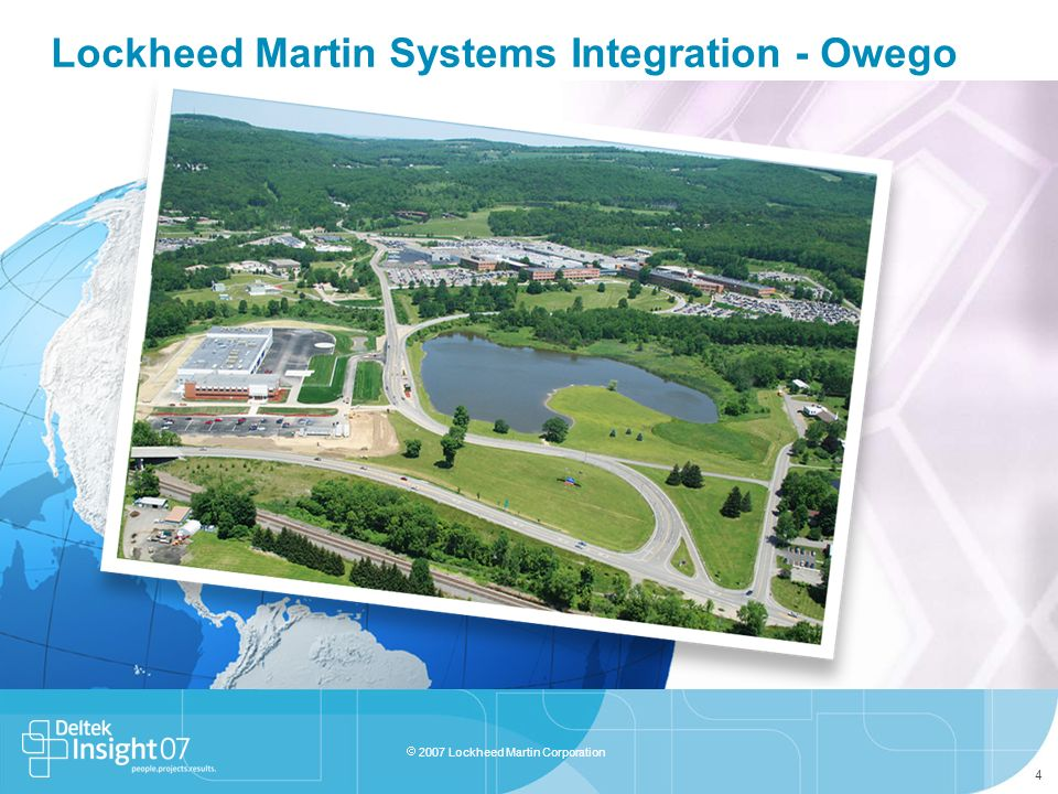 Lockheed Martin Systems Integration - Owego