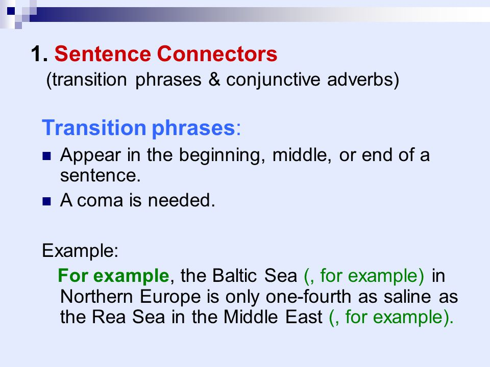 essay transition examples