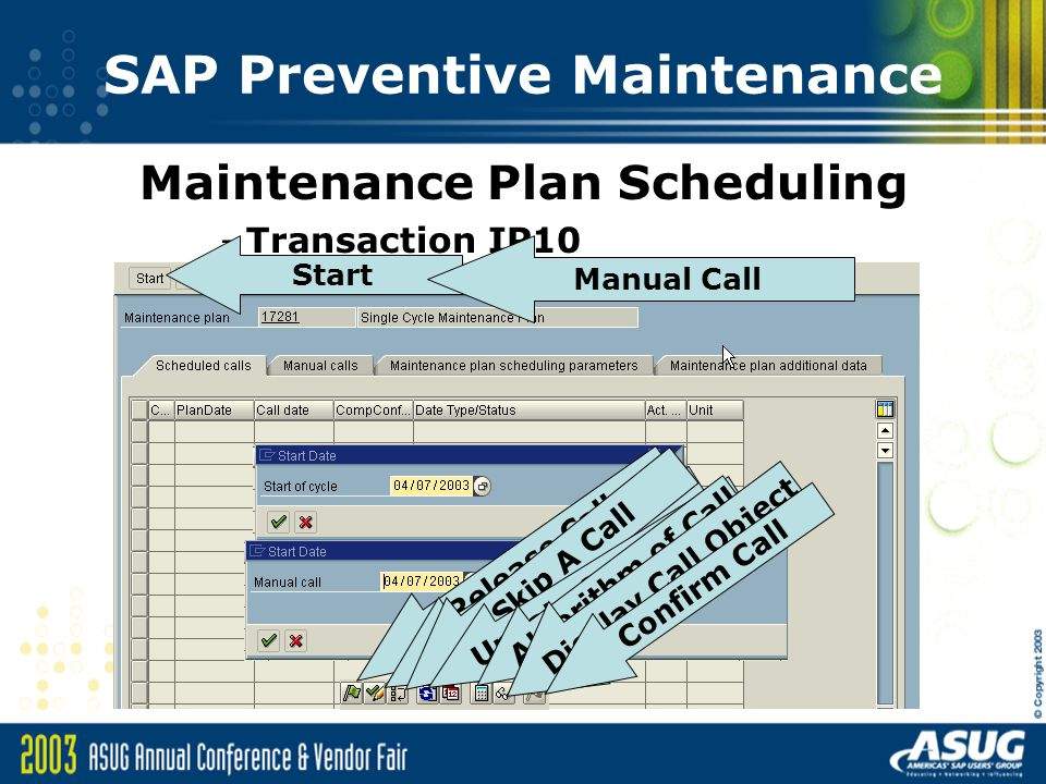 preventive maintenance pdf in sap