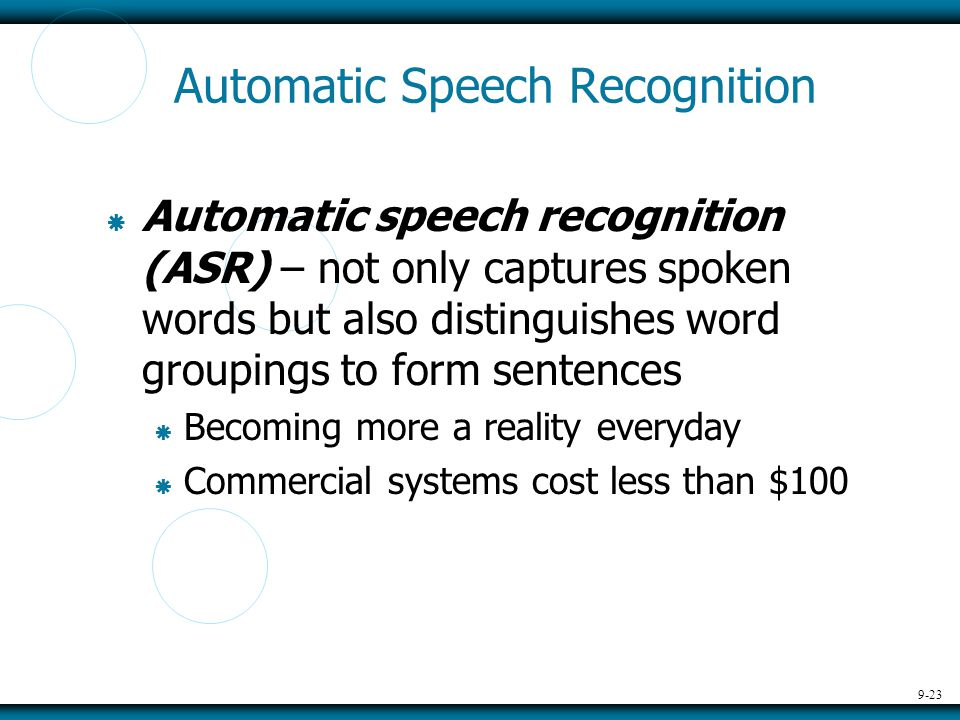 asr automatic speech recognition Automatic speech recognition (asr) engineer – (munich/paris) you will be a part of a team that's responsible for a wide variety of speech-related research and development activities.